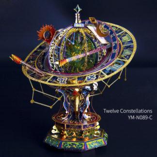 Twelve Constellations DIY 3D Metal Model Kits