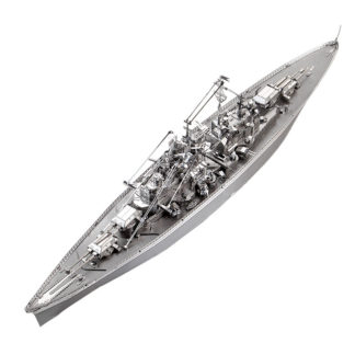 Piececool Bismarck Battleship Warship P084-S Diy 3D Metal Model Kits Nano Puzzle Laser Cut Assemble Jigsaw Toys (1)