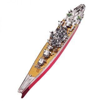 Piececool Japan Battleship Yamato P101-SRY Diy 3D Metal Model Kits Nano Puzzle Laser Cut Assemble Jigsaw Toys (1)