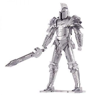 Piececool Black Knight Soldier P079-S Diy 3D Metal Model Kits Nano Puzzle Laser Cut Assemble Jigsaw Toys