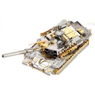 Piececool M1A2 SEP TUSK II Tank P077-GS Diy 3D Metal Model Kits Nano Puzzle Laser Cut Assemble Jigsaw Toys (1)