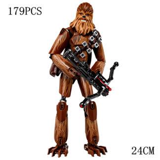 Disney Star War Chewbacca Building Block Figure Dolls Brick Toy For Children