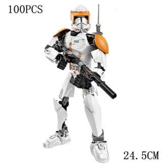 Disney Star War Clone Commander Building Block Figure Dolls Brick Toy For Children