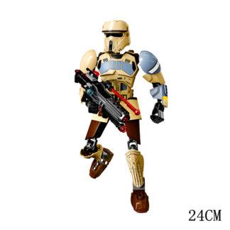 Disney Star War Scarif Stormtrooper Building Block Figure Dolls Brick Toy For Children