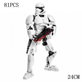 Disney Star War Storm trooper Building Block Figure Dolls Brick Toy For Children