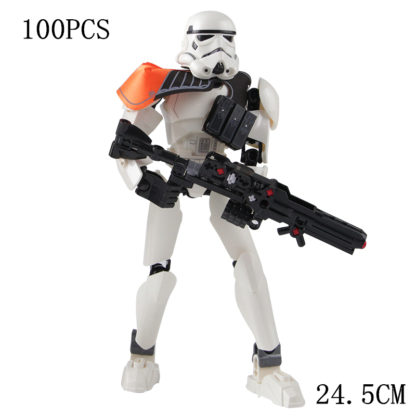 Disney Star War Stormtroop Commander Building Block Figure Dolls Brick Toy For Children